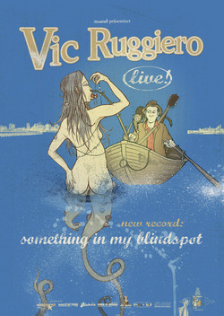 Vic Ruggiero – Something in my Blindspot (Plakat)